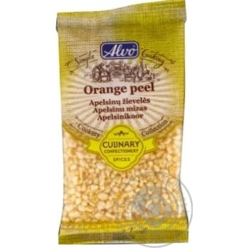 Цукаты из апельсиновой цедры Alvo кусочки 50г - купить, цены на Novus - фото 1