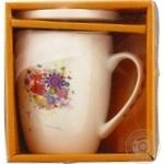 Чашка Keramia Цветочная муза заварочная 360мл