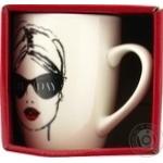 Чашка Keramia Модна дівчина - 7 390мл