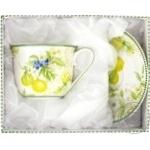 Lemon Set for Tea 2 Utensils 220ml