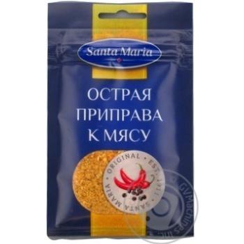 Приправа Санта Мария к мясу острая 20г Эстония - купить, цены на Novus - фото 1