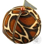 Кулька ялинкова тваринний принт 10 см Koopman
