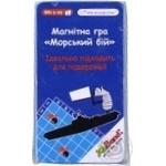Игра магнитная Морской бой Мини - купить, цены на Novus - фото 1
