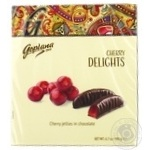 Goplana Delights cherry jelly in chocolate 190g