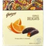 Goplana Delights orange jelly in chocolate 190g