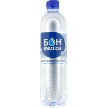 Вода минеральная природная столовая Бон Буассон сильногазированная 0,5л