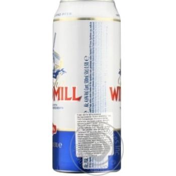 Пиво Dutch Windmill світле 4,6% 0,5л - купити, ціни на МегаМаркет - фото 2