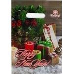 Gift package polyethylene 22х30cm assortment