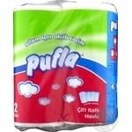Бумажное полотенце Pufla 2 слоя 2шт