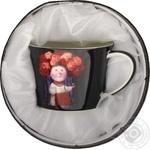 Lefard Tea set Ukrainian girl 2pcs.