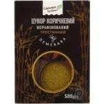 Цукор коричневий Саркара продукт нерафінований тростинний 500г - купити, ціни на МегаМаркет - фото 1
