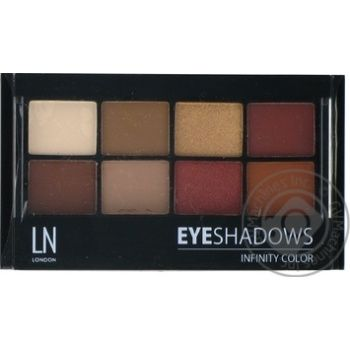 LN Professional Set of eyeshadows Infinity Color №4 - buy, prices for MegaMarket - image 1