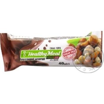 Батончик Power Pro Healthy Meal протеиновый с орехом 40г