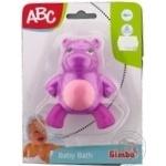 Іграшка для ванни Тваринки 3 види 12міс.+ Арт.4010032