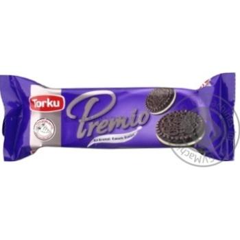 Torku Premio cookies with cocoa and milk cream 57g - buy, prices for CityMarket - photo 1