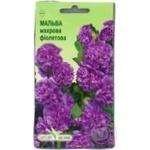 Насіння Елітсортнасіння Квіти Мальва махрова фіолетова 10шт