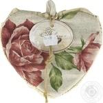 Прихватка Прованс Сердце Large Pink Rose