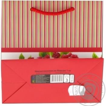 Пакет Sabona подарочный 155х150мм в ассортименте - купить, цены на Novus - фото 4