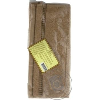 Carmen Towel Brown 30x30cm - buy, prices for MegaMarket - image 3