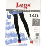 Колготы Legs Micro Cotton 140 Den женские р.4 Nero