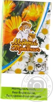 Фиточай Мудрый Травник Календула и Ромашка в пакетиках 20х2г - купить, цены на Novus - фото 4