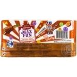 Шоколад Корона Max Fun манго ананас маракуйя взрывная карамель шипучие шарики 160г - купить, цены на Novus - фото 2
