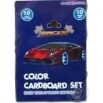 Набор цветного картона Cool For School 10 листов в ассортименте