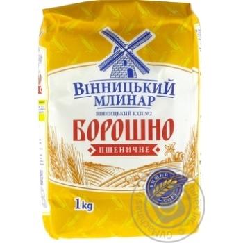Мука Винницкий Млинар пшеничная высший сорт 1кг - купить, цены на МегаМаркет - фото 2