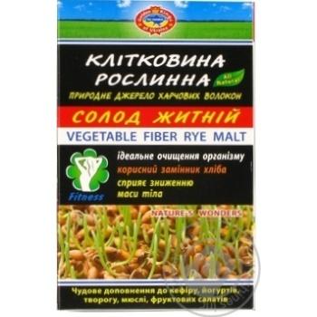 Клетчатка растительная Голден Кингз оф Юкрейн солод ржаной диетическая добавка 190г Украина - купить, цены на МегаМаркет - фото 1