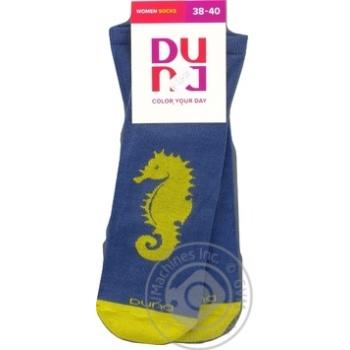 Шкарпетки жіночі Duna р.23-25 джинс - купити, ціни на CітіМаркет - фото 3