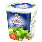 Сыр Добряна Моццарелла мягкий в рассоле 45% 350г пластиковый стакан Украина