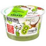 Десерт Bob Snail на кокосовом креме груша-киви 180г