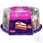 Торт Rozalini клубничный бисквитный 830г
